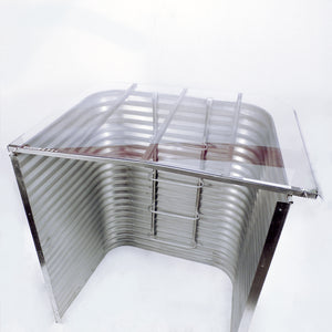 Clear Polycarbonate Window Well Cover for Bright Idea Egress Window Kit