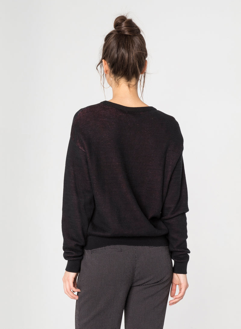 CHRLDR-LIPS - Dropped Shoulder Sweater