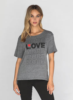 CHRLDR-MORE LOVE - Wide T-Shirt