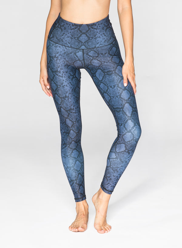 CHRLDR-SNAKE - High Waisted Leggings