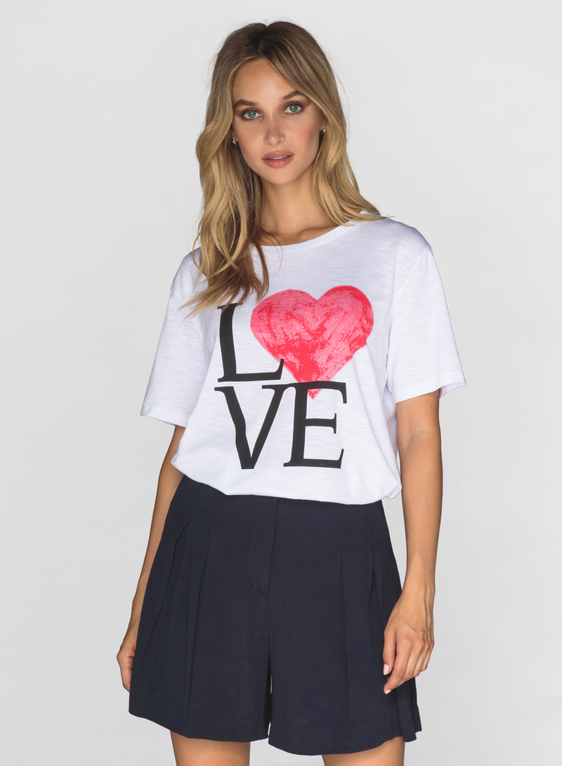 CHRLDR-LOVE - Wide T-Shirt