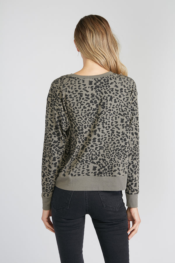 CHRLDR-LEOPARD — Long Sleeve T-Shirt
