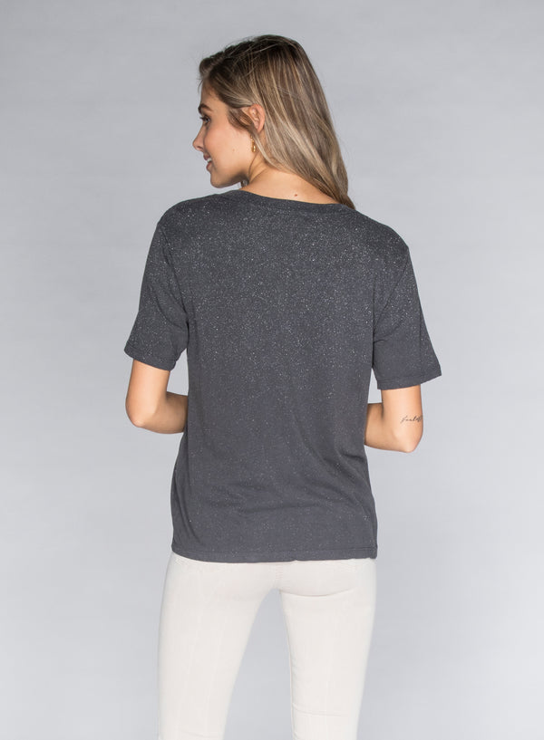 CHRLDR-GLITZ - Wide T-Shirt