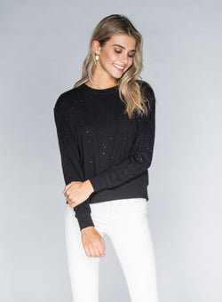 CHRLDR-STUD - Wide Long Sleeve T-Shirt