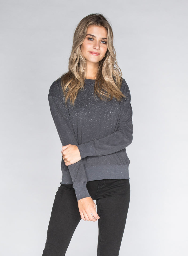 CHRLDR-GLITZ - Wide Long Sleeve T-Shirt