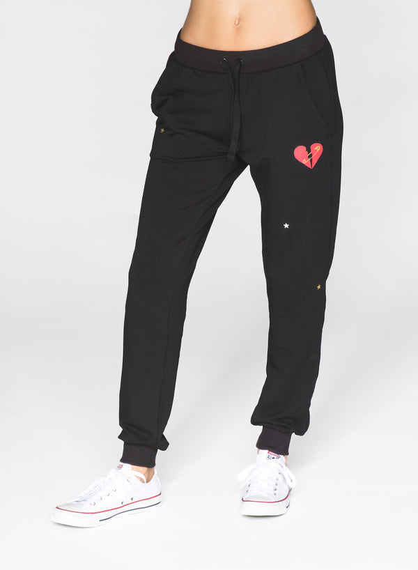 CHRLDR-MENDED HEART - Flat Pocket Sweatpants