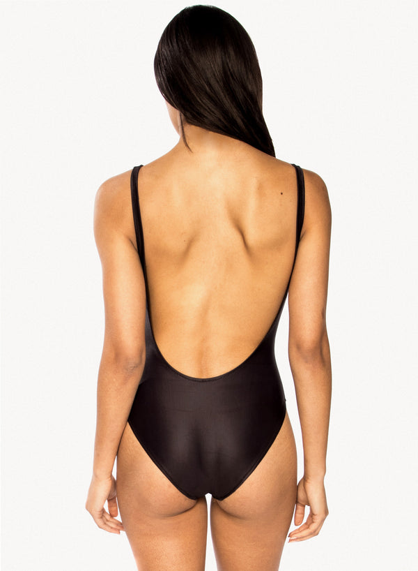 CHRLDR-TRES BIEN — Swimsuit (Black)
