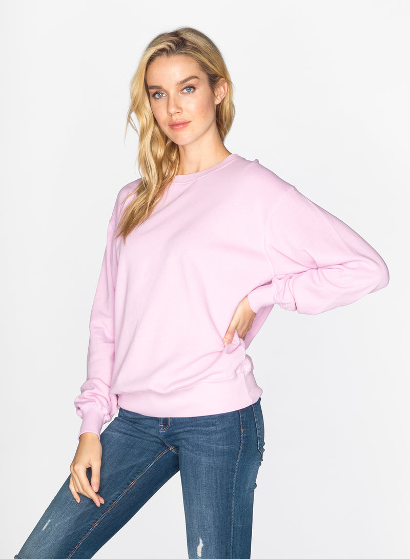 CHRLDR-BLAIR - Oversized Crew Neck Sweatshirt
