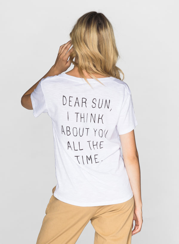 CHRLDR-DEAR SUN - V-Neck T-Shirt