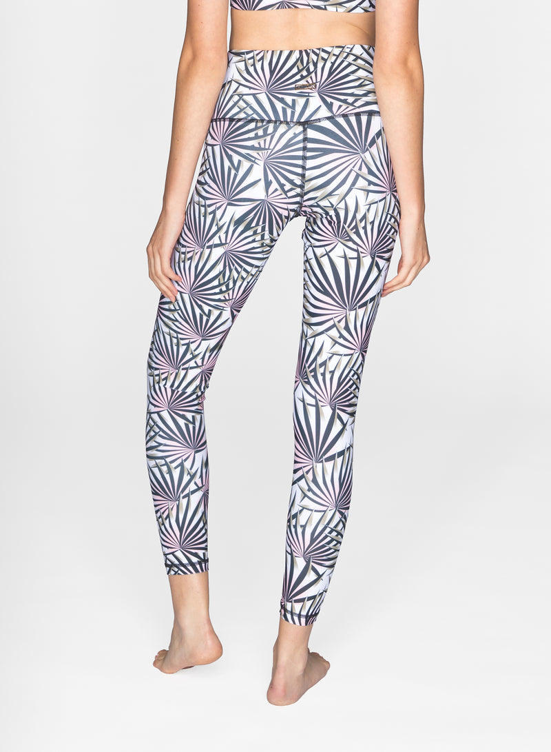 CHRLDR-PINK JUNGLE - High Waisted Leggings