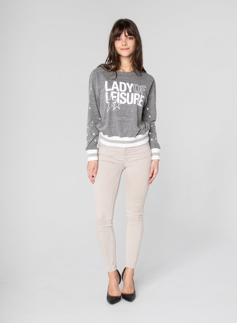 CHRLDR-LADY OF LEISURE - Long Sleeve T-Shirt