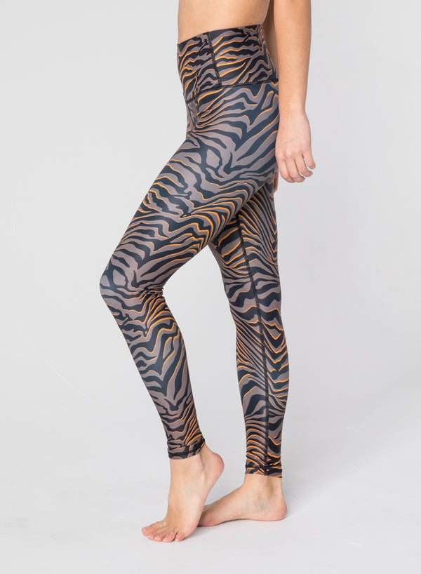 CHRLDR-TIGER - High Waisted Leggings