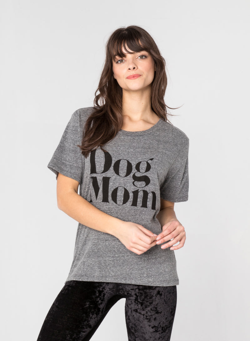 CHRLDR-DOG MOM - Wide T-Shirt