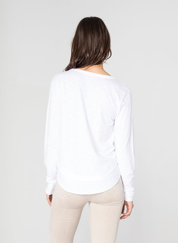 CHRLDR-AVA LONG SLEEVE - L/S Mock Layer T-Shirt