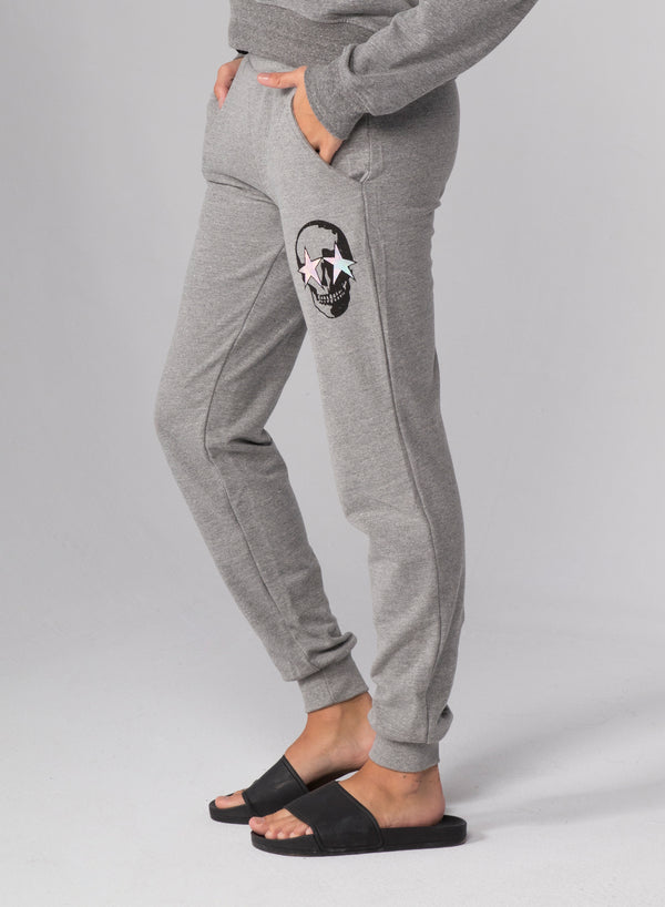 SKULL STAR - Flat Pocket Sweatpants