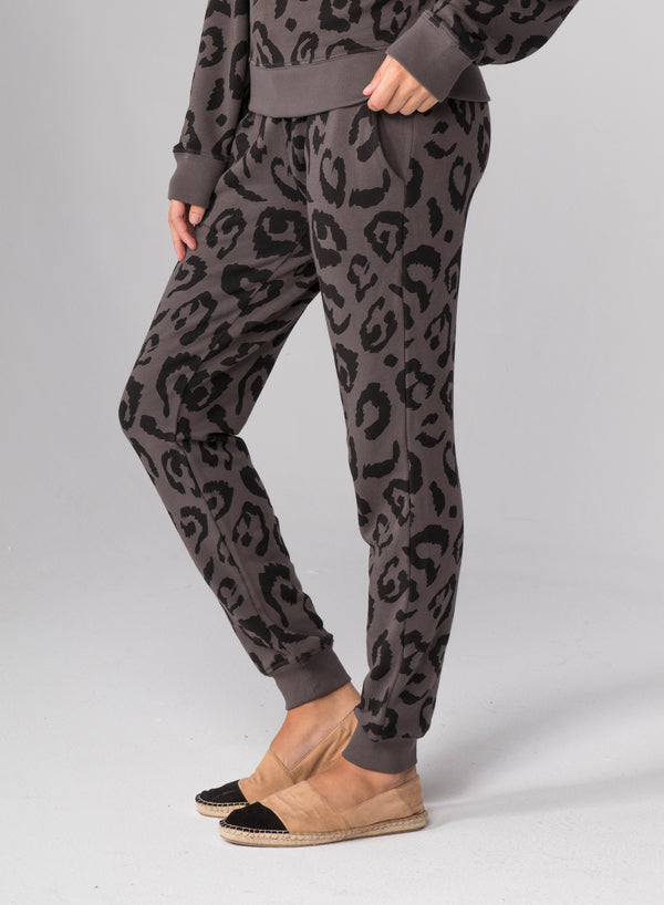 BIG LEOPARD - Flat Pocket Sweatpants
