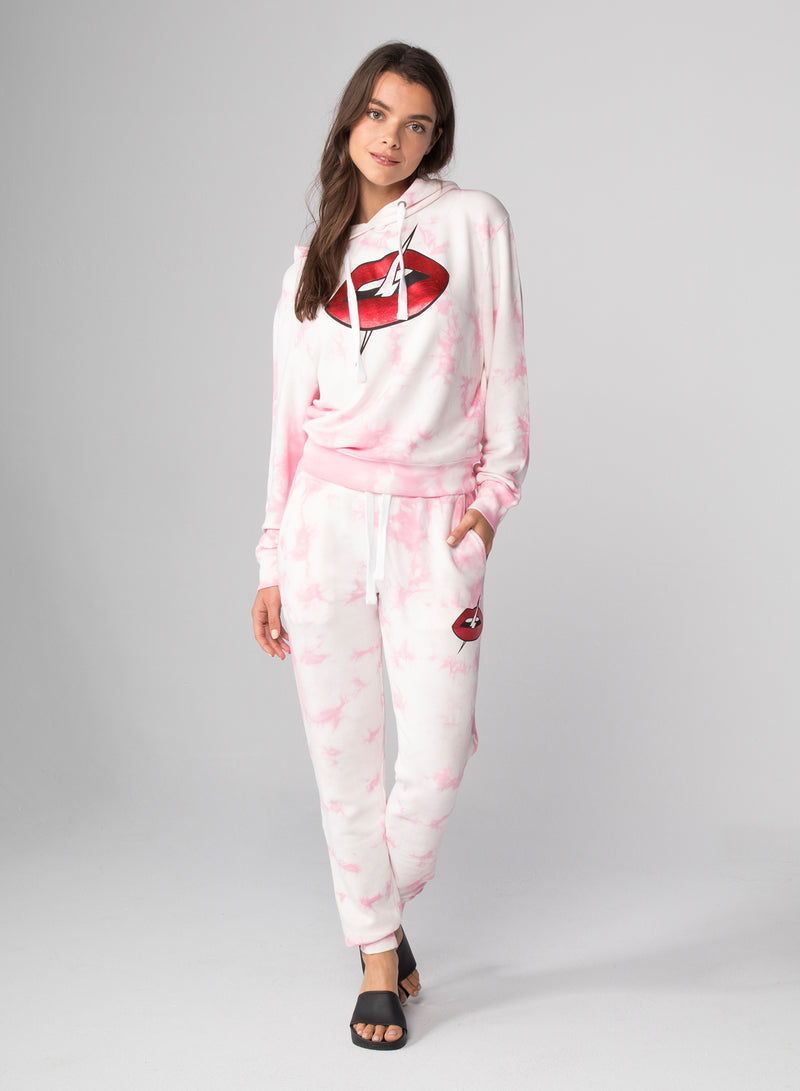 LIPS - Flat Pocket Sweatpants