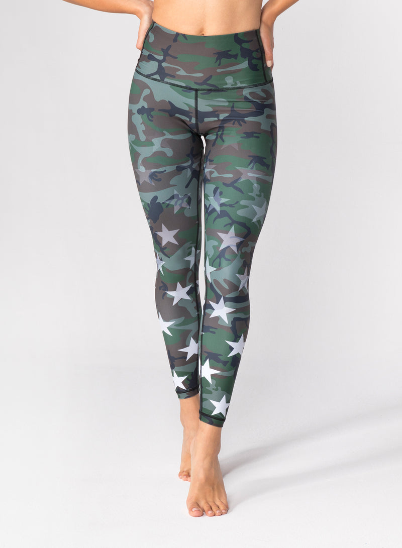 CHRLDR-Faded Stars - High Waisted Leggings
