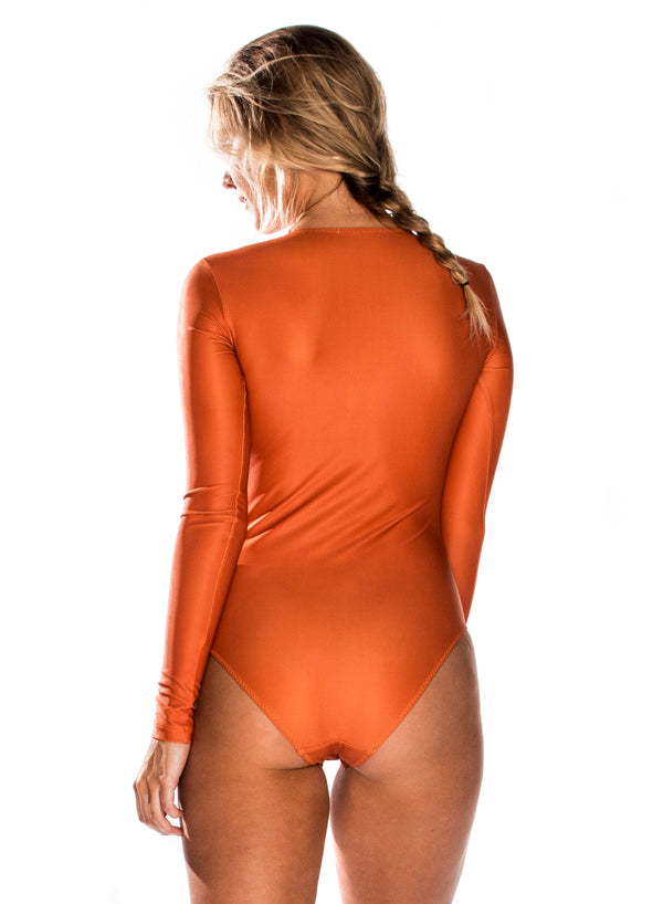 CHRLDR-WILD THING — L/S Bodysuit