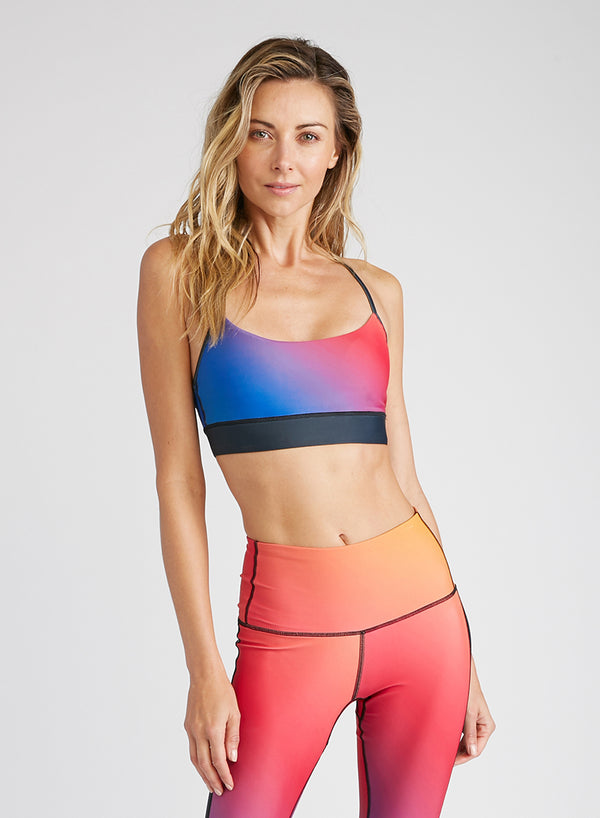 CHRLDR-RAINBOW - Victory Sports Bra