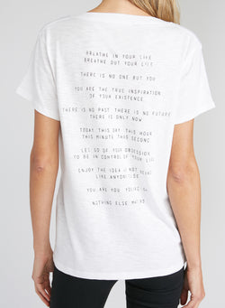 CHRLDR-Nothing Else - V-Neck Wide T-Shirt
