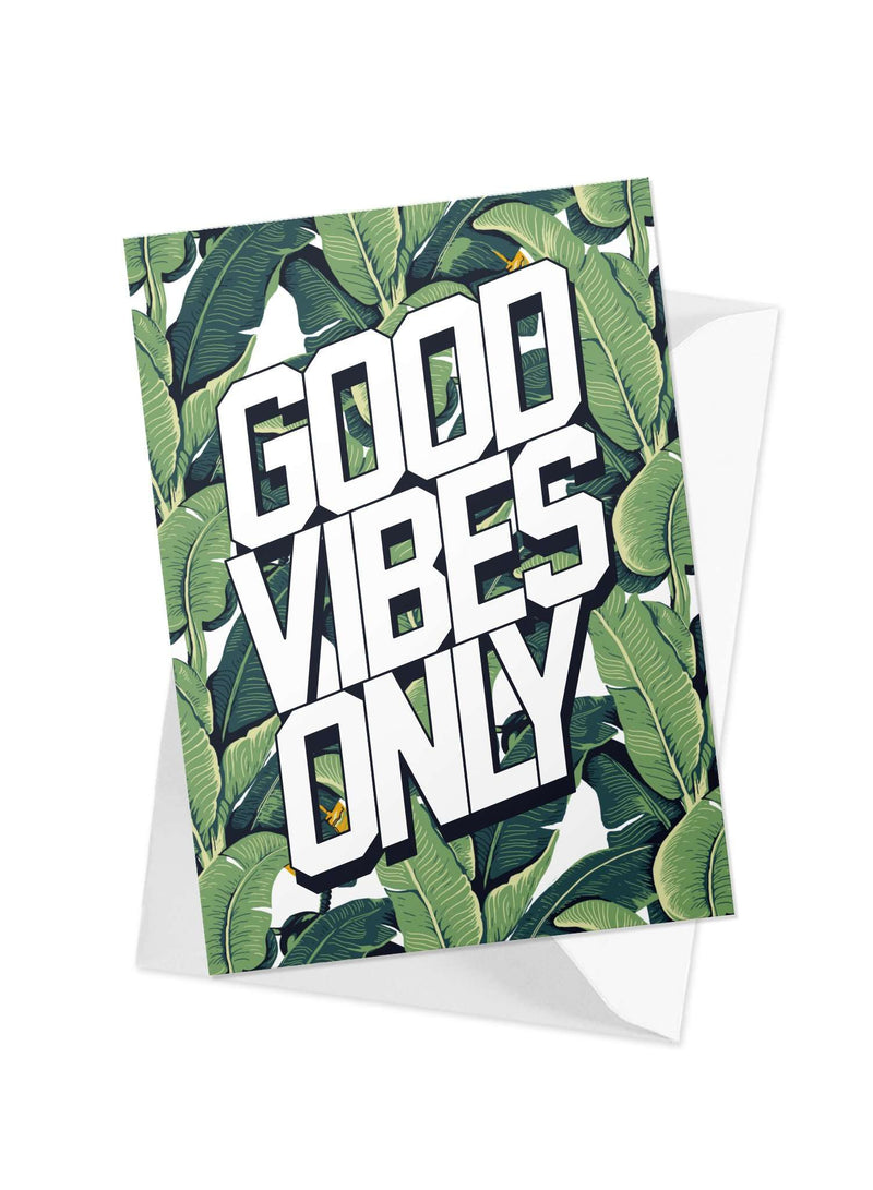 CHRLDR-'Good Vibes' Greeting Card