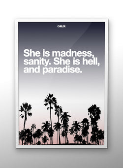 CHRLDR-She is Madness – Poster
