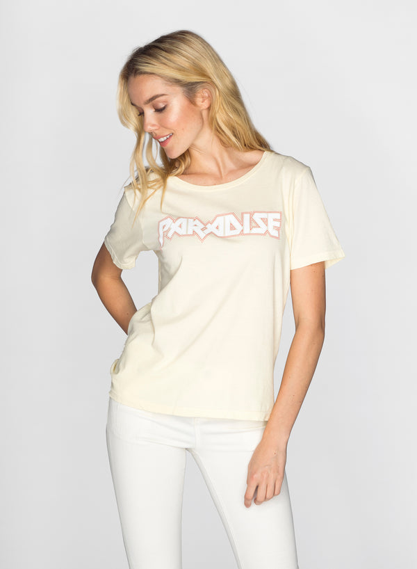 CHRLDR-PARADISE ROCK - Wide T-Shirt