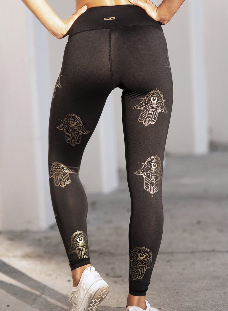 CHRLDR-HAMSA — High Waisted Leggings