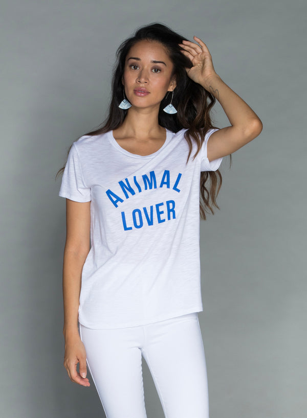 CHRLDR-ANIMAL LOVER — Classic T-Shirt