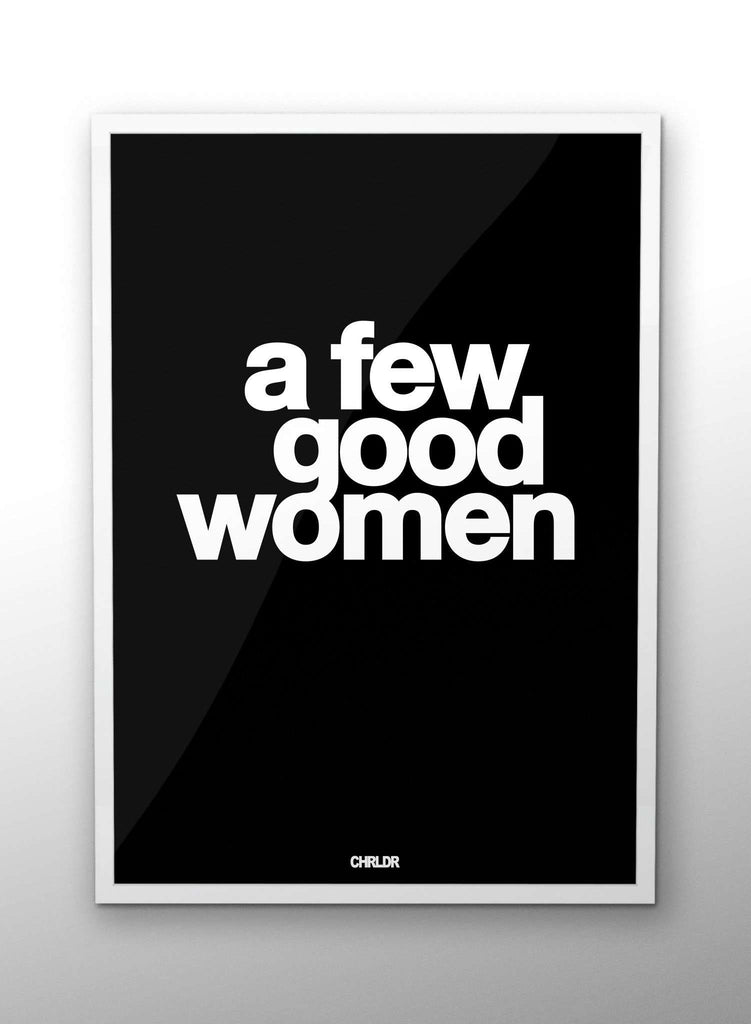 CHRLDR.COM_A Few Good Women – Poster
