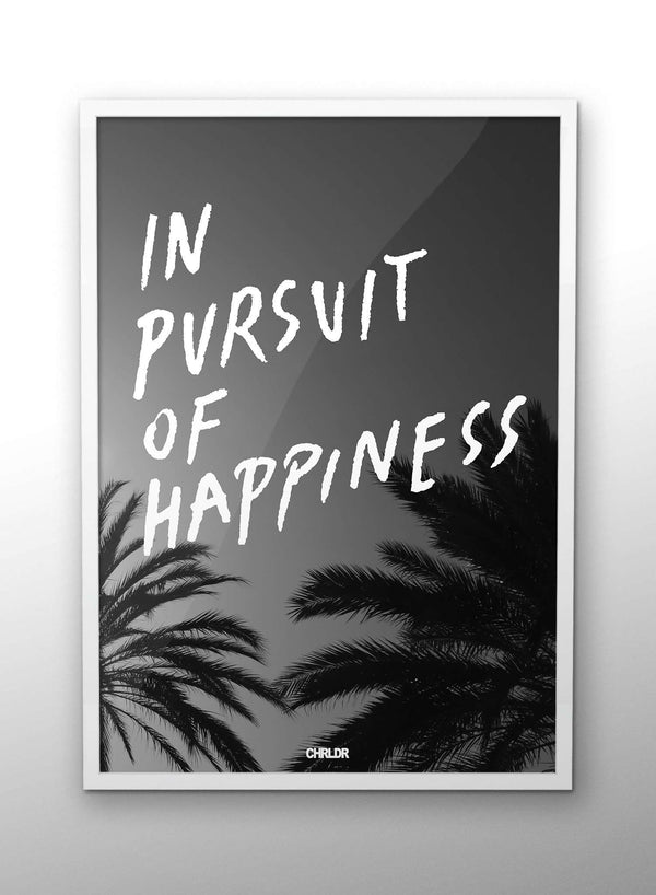 CHRLDR-In Pursuit Of Happiness – Poster