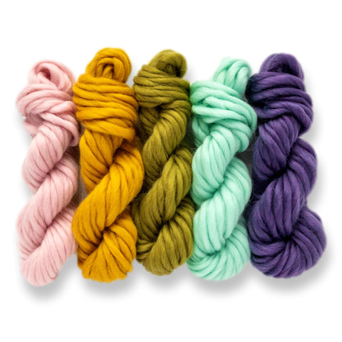 Bright Rainbow Yarn Pack