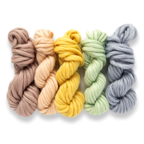 Pastel Rainbow Yarn Pack