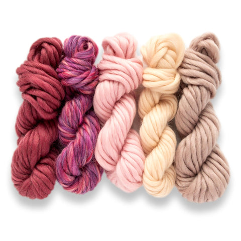 Dusty Pink Yarn Pack