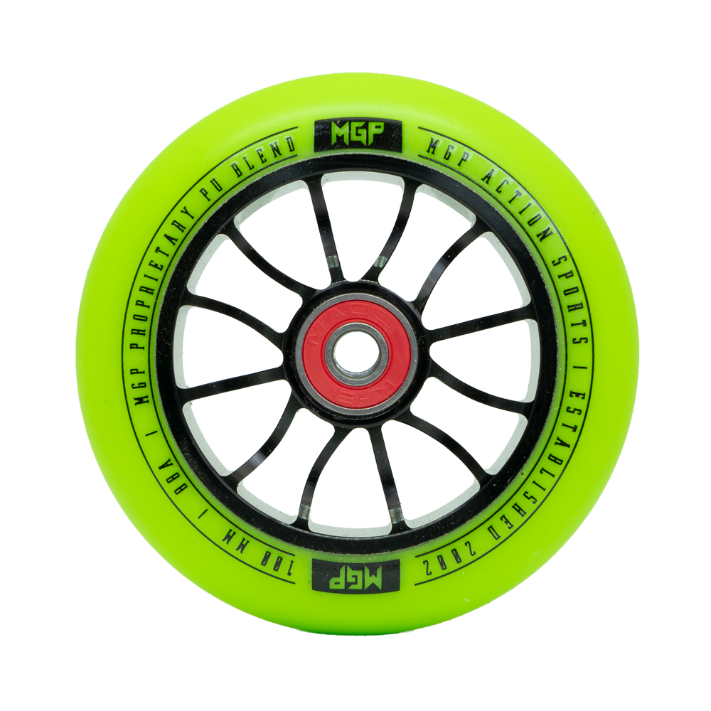 100MM MADD GEAR FORCE WHEEL GREEN