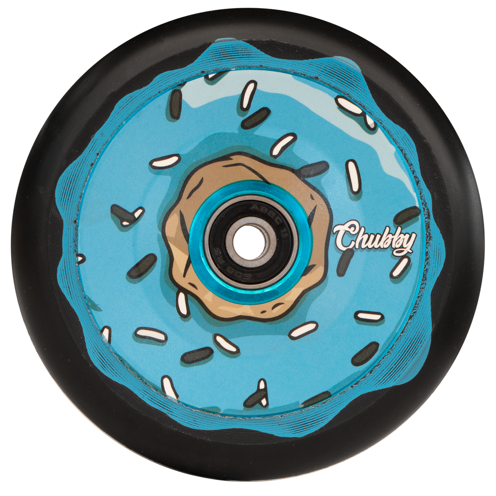 CHUBBY 110MM DOHNUT OREO BLUE WHEEL
