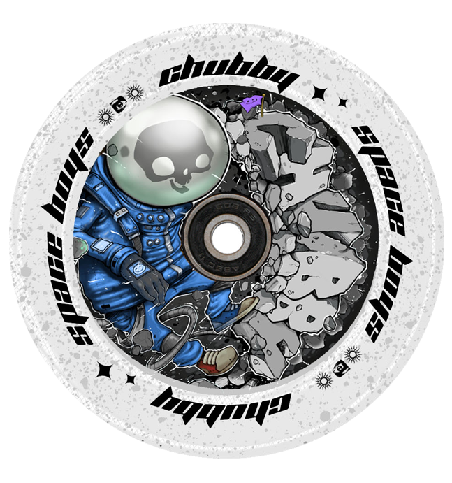 CHUBBY 110MM SPACEBOYS ASTRONAUGHT WHEEL