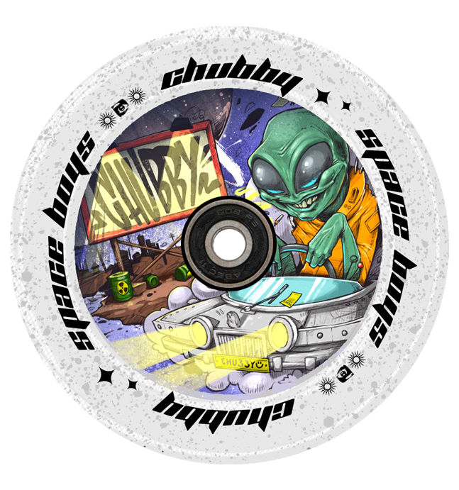 CHUBBY 110MM SPACEBOYS ALIEN WHEEL