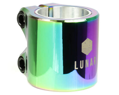 DRONE LUNAR DOUBLE CLAMP NEO CHROME