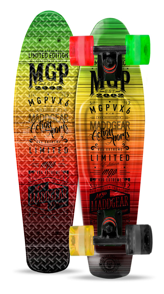 MADD RETRO BOARD G-WRAP  RASTA