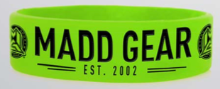 MGP WRIST BAND GREEN / BLACK