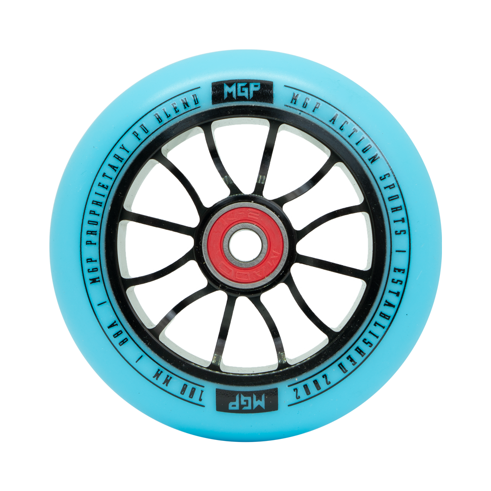 100MM MADD GEAR FORCE WHEEL BLUE