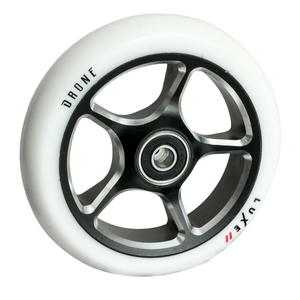 DRONE 120MM LUXE 2 WHEEL - WHITE