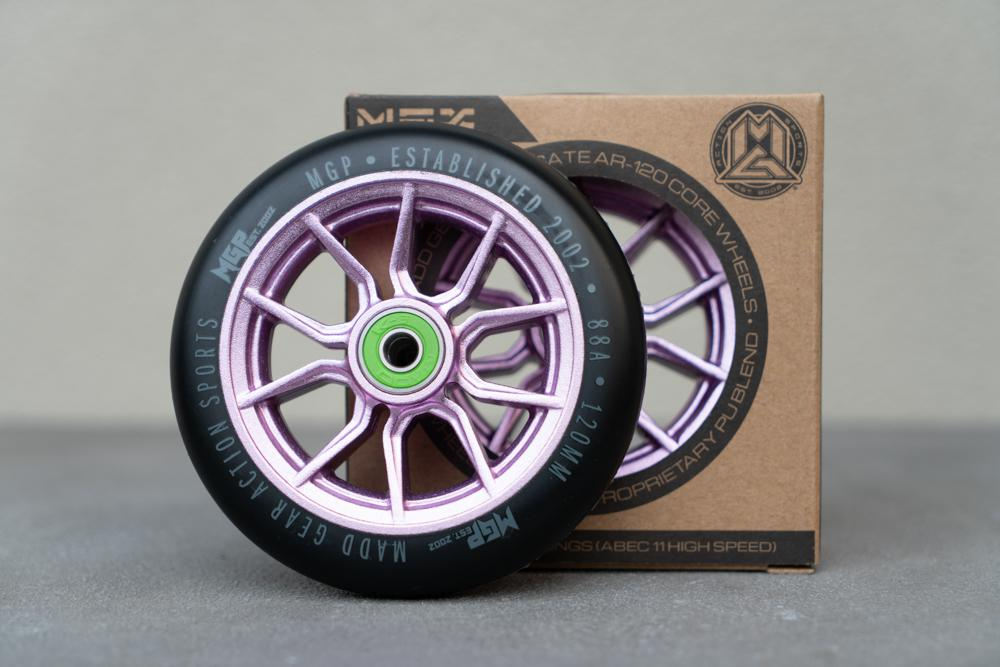 120MM SYNDICATE WHEEL PURPLE. 2 PACK