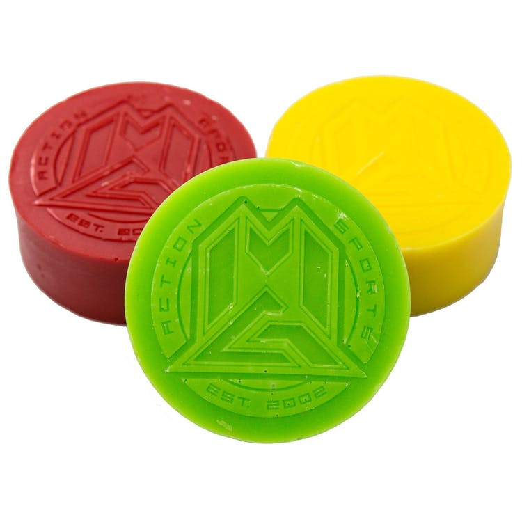 MGP WAX ASSORTED 3 PACK RED / GREEN / YELLOW