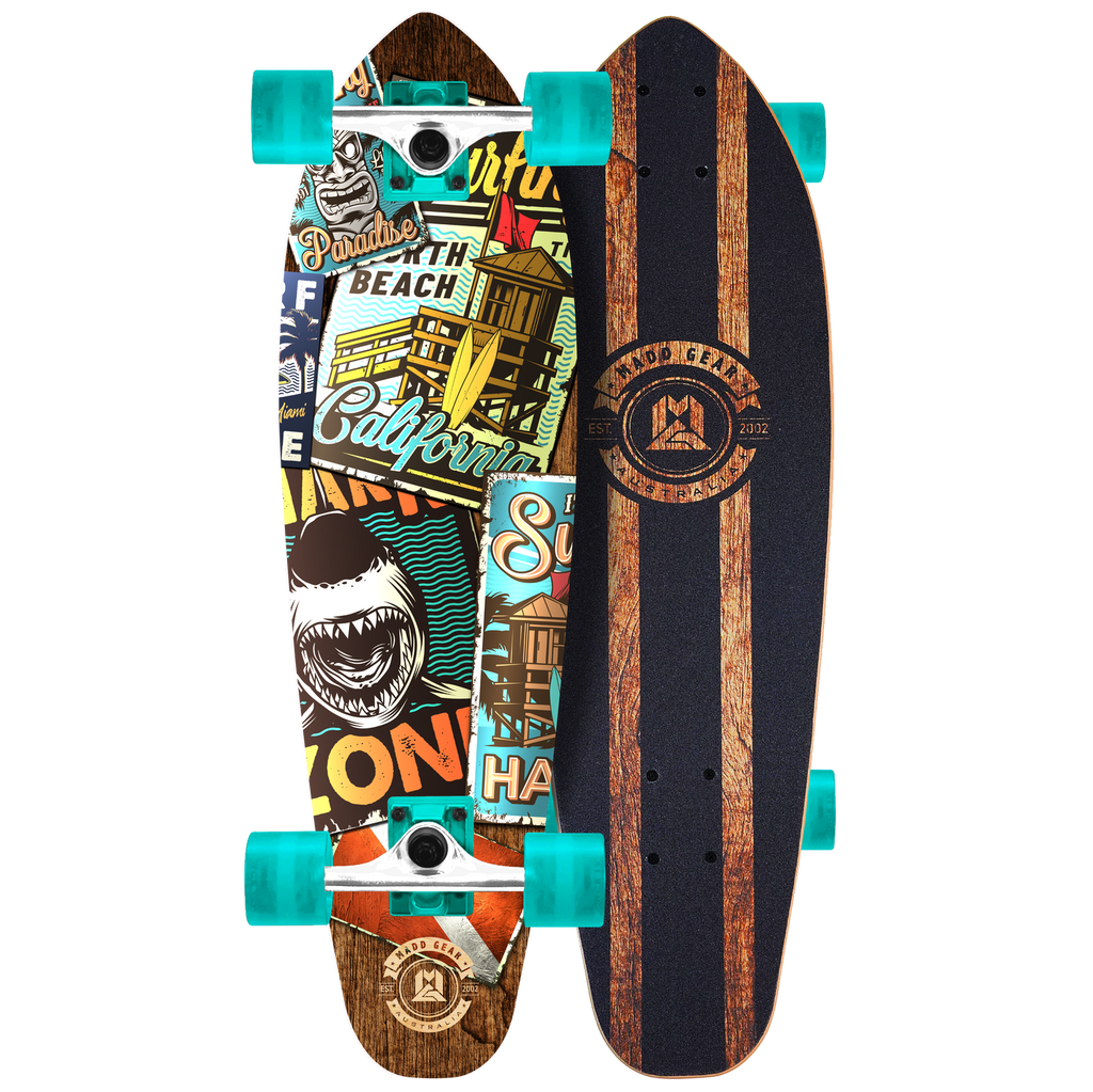 "MADD GEAR 32"" CRUISER BOARD BAYDIVE"