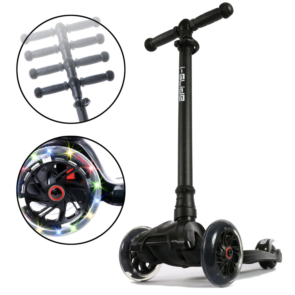I-GLIDE 3 WHEELED SCOOTER BLACK SUB 2