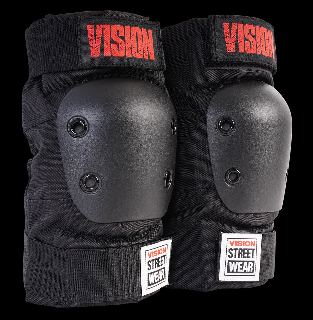 VISION PRO PAD SET KNEE & ELBOW MEDIUM