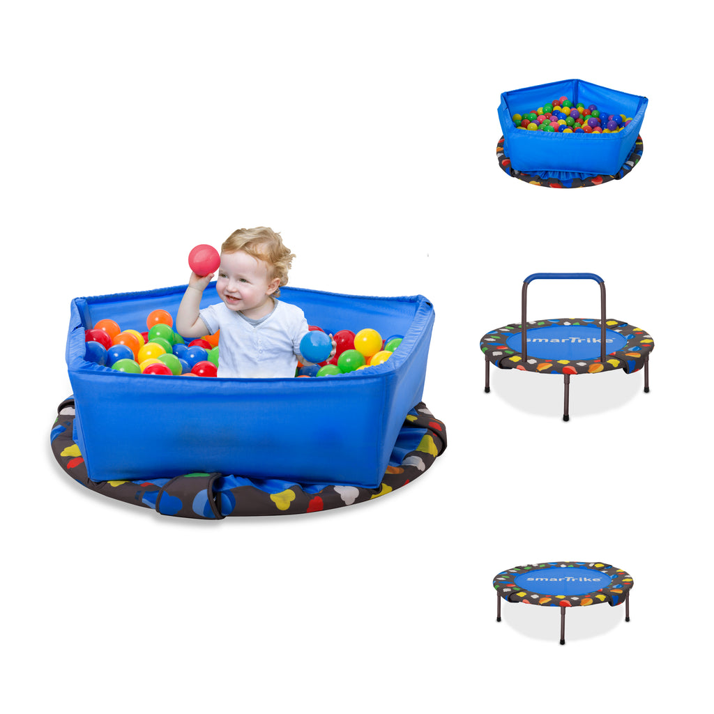 SMARTRIKE 3 IN 1 ACTIVITY CENTRE TRAMPOLINE